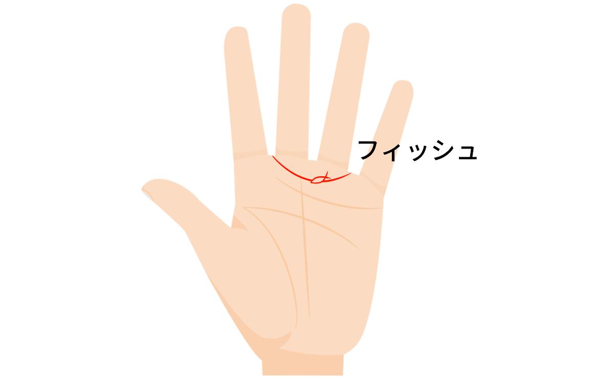 手相 エロス 線